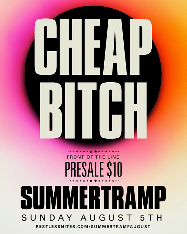 Summertramp is back | May 27 | July 1 | Aug 5 | DTLA PROUD Aug 25 - 26